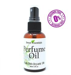 Fancy for Her Type Perfume Oil Made W Organic Oils Alcohol Free $8.99