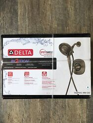 DELTA In2ition Stainless Venetian Bronze Shower Faucet 142710C-RB-120