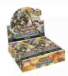YUGIOH FISTS OF THE GADGETS BOOSTER BOX SEALED ENGLISH CARD PACK