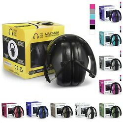 Safety Earmuffs Hearing Protection Shooting Hunting Headphones 34dB Ear Muffs