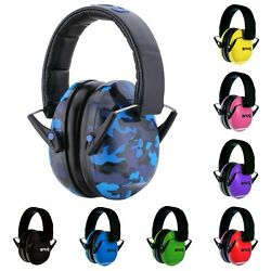 Kids Earmuffs Adjustable Headband Children Adults Hearing Protectors Ear Muffs