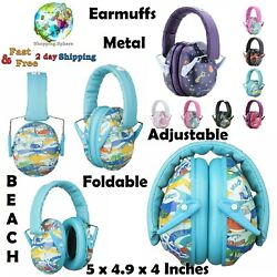 Earmuffs For Kids Adults Noise Blocking Ear Defenders Hearing Protectors Unisex