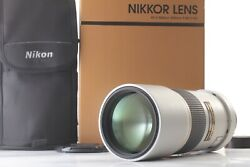 【Top Mint in Box】 Nikon AF-S NIKKOR ED 300mm f4 D Light Gray From Japan 19266