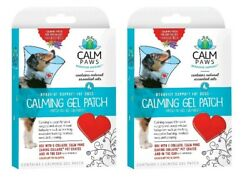 Calm Paws SET OF 2 Calming Gel Patch for DOGS E Collars Pet Crates amp; Cars $19.99