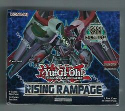 Yugioh Rising Rampage 1st Edition Booster Box Factory Sealed English