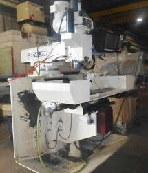 CHEVALIER CNC 3-AXIS VERTICAL MILLING MACHINE - DOES SAME WORK AS SWI TRAK- 2001
