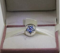 AUTHENTIC PANDORA Bright Star Clip Multi Colored Crystals 796380NSBMX #1071 $39.95