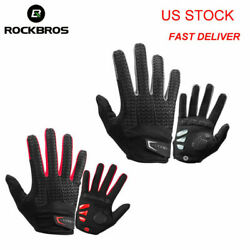 ROCKBROS Windproof Cycling Gloves Touch Screen Riding MTB Bike Bicycle Gloves $16.99