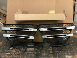 Range Rover Sport L494 LM Style Front Bumper DRL Holders Grille Replacement