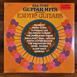 The Exotic Guitars All Time Guitar Hits SEALED Promo Vinyl LP