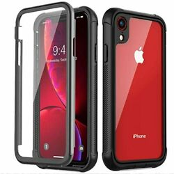 Full Body Case Cover With Built-in Screen Protector for Apple iPhone XS Max XR X