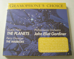 HOLST THE PLANETS GRAINGER THE WARRIORS PHILHARMONIA ORCHESTRA CD - NEW - SEALED