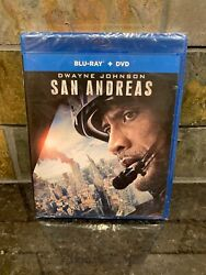 San Andreas Blu-ray + DVD Dwayne The Rock Johnson