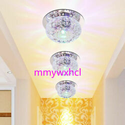 3W 5W Crystal LED Ceiling Light Fixture Pendant Lamp Lighting Chandelier $11.88