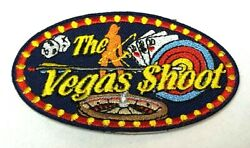 Undated THE VEGAS SHOOT Official NFAA Archery Patch 3 Spot Target Star Indoor $5.00