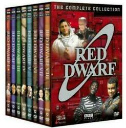 RED DWARF COMPLETE SERIES COLLECTION ON DVD SEASONS 1 - 8 18 DISC BOX SET SEALED