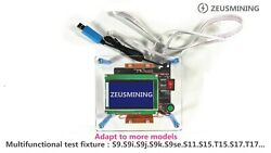 New Antminer test fixture hash plate repair for S9 S9j S9K S9se S11 S15 T15 S17 $298.00