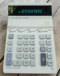 Texas Instruments Vintage Desk Top Calculator TI-5100 II Working and Tested $29.99