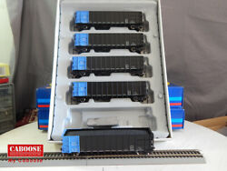 Athearn HO Scale 50' Thrall High Side Coal Gondola D&RGW 5 Pack #94452 (08109)