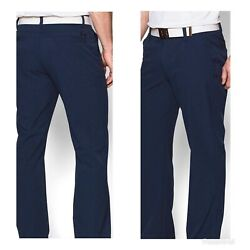 Under Armour Men's Match Play Vented Golf Pants- Academy- 34x30