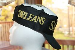 New Orleans Saints Hat NFL Painters Cap Vintage Rare New Old Stock From the 80s
