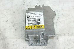 2007 BMW 335i E92 COUPE #126 UNDER CONSOLE MAIN AIR INFLATOR BAG MODULE COMPUTER