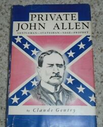 Private John Allen by Claude Gentry - Signed!