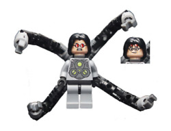 Lego Dr. Octopus Doc Ock 6873 Red Shades Super Heroes Minifigure $37.95