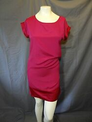 The Limited solid pink short sleeve Classy Cocktail Dress size Small $15.99