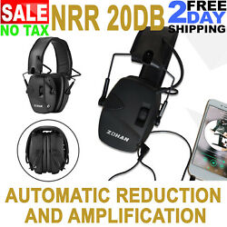 Walkers Tactical Electronic Hearing Protection Ear Muffs Shooting Headphones