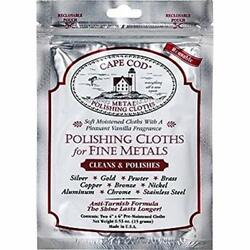 Metal Polishing Cloths Polishes Package Of 2 Home & Kitchen
