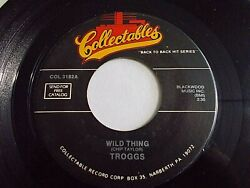 The Troggs Wild Thing  Love Is All Around 45 Collectables Vinyl Record