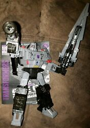 Transformers War For Cybertron Siege MEGATRON Voyager Complete Mint WFC G1 Style