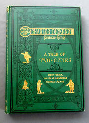 ANTIQUE Book A TALE of TWO CITIES by CHARLES DICKENS Harper & Brothers 1875