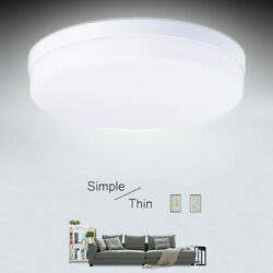LED Ceiling Light Modern Lighting Fixture Bedroom Kitchen Surface Mount Lamp US
