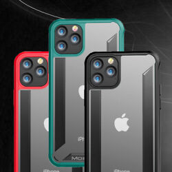 For iPhone 11 Pro Max Case 7 8 Plus XS XR Mosafe [X-Pure] Clear Shockproof Cover