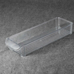 1pc Versatile Stackable Kitchen Organizer Bin Tray for Freezers Cabinets Drawers