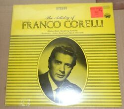 The Artistry of FRANCO CORELLI - Everest 3207 SEALED
