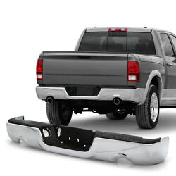 For 09-18 Dodge Ram 1500 PickUp Dual Exhaust Model Rear Bumper Chrome Assembly $289.25