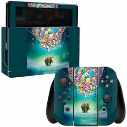 MightySkins Skin Compatible with Nintendo Switch - Elephant Balloons  Protectiv