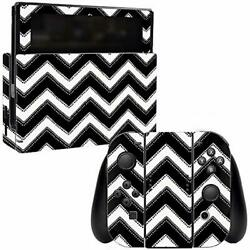 MightySkins Skin Compatible with Nintendo Switch wrap Cover Sticker Skins Chevro