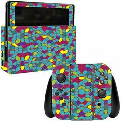 MightySkins Skin Compatible with Nintendo Switch wrap Cover Sticker Skins Bright