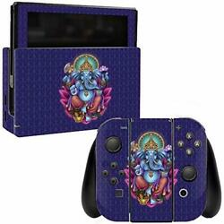 MightySkins Skin Compatible with Nintendo Switch - Ganesha Elephant  Protective