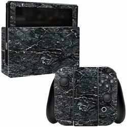 MightySkins Skin Compatible with Nintendo Switch - Onyx Marble  Protective Dur