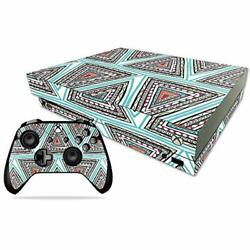 MightySkins Skin Compatible with Microsoft Xbox One X - Aztec Pyramids  Protect