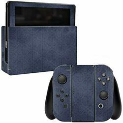 MightySkins Skin Compatible with Nintendo Switch - Charcoal Lattice  Protective