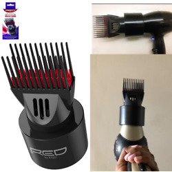 Universal Detangling Blow Dryer Natural Hair Nozzle Attachment Comb Brush Stylin