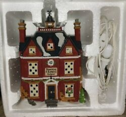 Department 56 Dickens Village Boarding And Lodging School Mint Condition