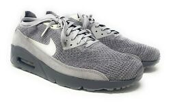 Mens Nike Air Max 90 Ultra 2.0 Flyknit Size 12 (Atmosphere Grey)