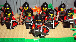 LEGO Castle lot of 9 Dragon Knights minifigures Knights Archers BRAND NEW!!!